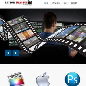 servicii web design site editorimagine