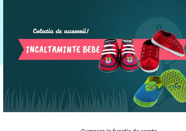 servicii web design magazin haine copii