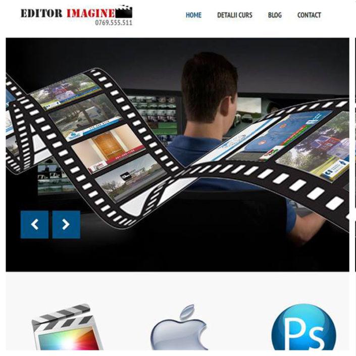 web design profesional editorimagine