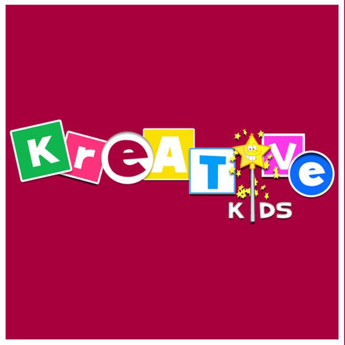 logo profesional kreative kids