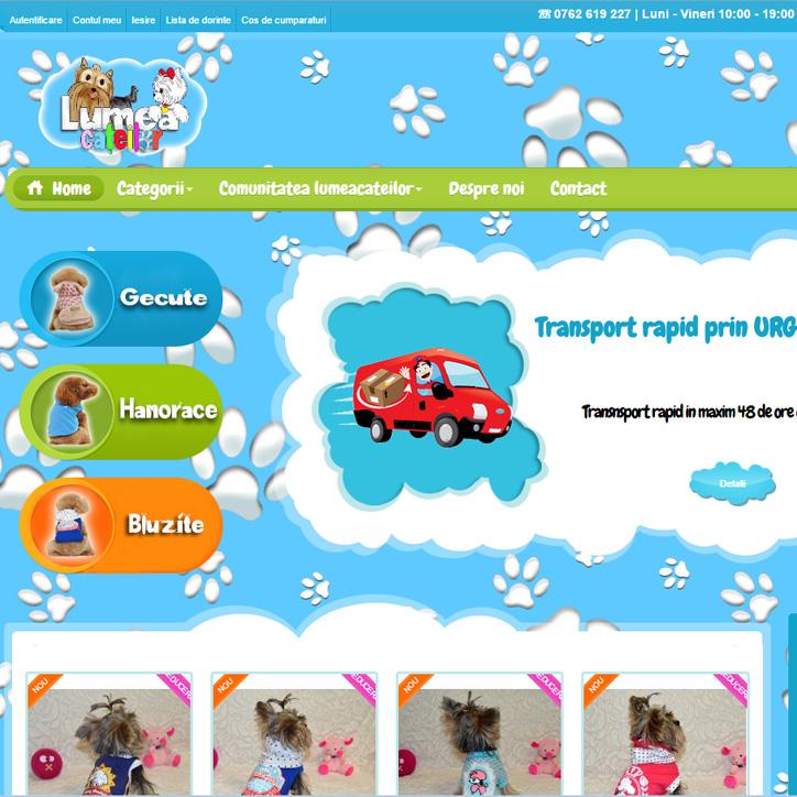 web design magazin online catei