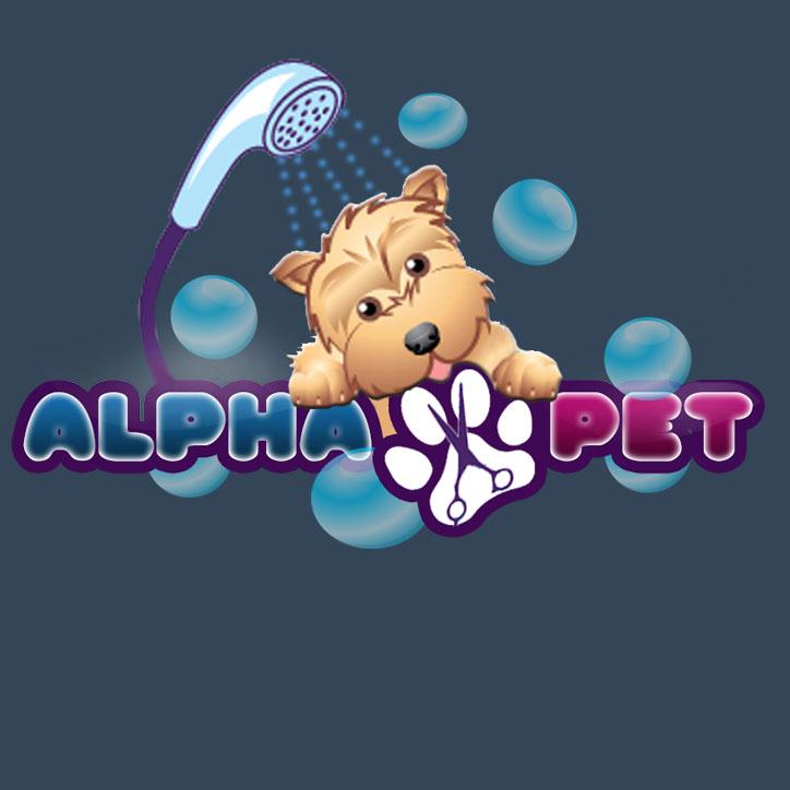 logo profesional AlphaPet